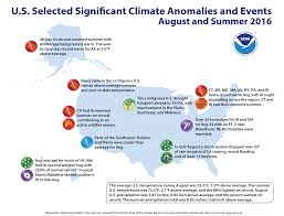 Wildfire Map Noaa by U S Experiences 5th Warmest Summer On Record National Oceanic
