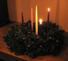 advent wreath candles advent wreath with two candles lit st memorial church