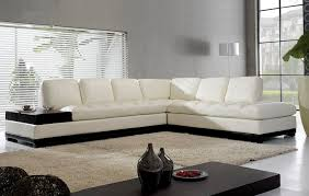 Modern Leather L Shaped Sofa Design Ideas EVA Furniture - Contemporary leather sofas design