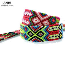 weave friendship bracelet images Buy amiu handmade popular brand bangle big weave jpg