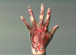 sharpie hand design by animebecca666 on deviantart