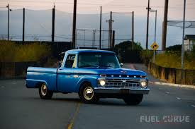 ford truck blue 1965 ford f100 u2013 a workin u0027 man u0027s muscle truck fuel curve