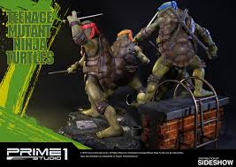 tmnt teenage mutant ninja turtles polystone statue prime