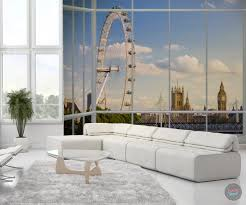 london skyline window wall mural u2013 funky store