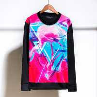 3d pink flamingo sweatshirt for sale cheap blue sky pullover