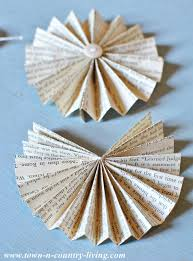 how to make paper fans how to make a paper fan garland town country living