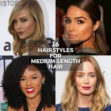 medium length hairstyle pictures medium length hairstyles you u0027ll want to wear now huffpost