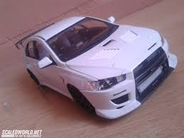 purple mitsubishi lancer mitsubishi lancer evolution x c west racing version scaledworld