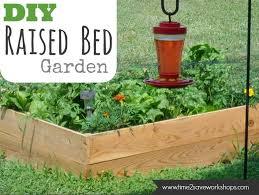 vegetable garden raised bed tutorial crazy good deal on amazon