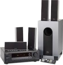 onkyo home theater onkyo ht sr700 black home theater audio system with 5 speakers