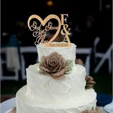 customized cake toppers personalized wedding cake toppers cakes ideas