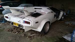 lamborghini replica amphibious lamborghini countach replica rover v8 engine not used