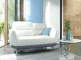 canap de luxe design canape canape cuir blanc relax canapac bas design 2 places