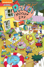 rocko s modern life a new u0027rocko u0027s modern life u0027 comic book series is on the way la times