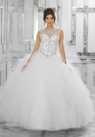 quinceanera dresses white ruffled tulle quinceanera dress style 89041 morilee