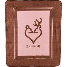 buck and doe heart browning buckheart throw blanket buck doe heart