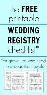wedding registry idea wedding registry checklists the 25 best baby registry checklist