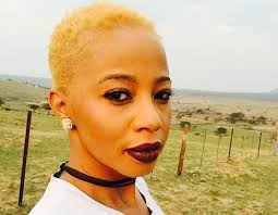 kelly khumalo s recent hairstyle kelly goes blonde yay or nay