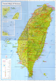 Large Map Of The World Maps Of Taiwan Detailed Map Of Taiwan In English Tourist Map