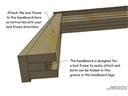 How To Build A Bed Frame And Headboard How To Build A Rustic Wood Headboard How Tos Diy