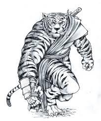 tiger man sketch by pirate press on deviantart