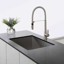 kpf 2730ss crespo single lever commercial style kitchen faucet kraus kpf 2730ss crespo single lever commercial style kitchen faucet with flex hose in stainless steel