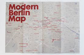 Berlin Map Gallery Of New Map Celebrates Berlin U0027s Modernist Architecture 1