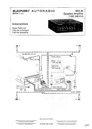 blaupunkt bea80 7607390010 sm service manual download schematics