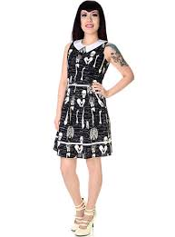 Skeleton Dress X Ray Skeleton Dress By Folter Clothing Glow In The Dark