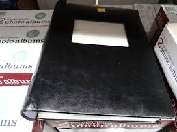 town photo albums town bonded leather photo album