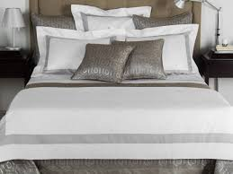 bicolore bedding set bicolore collection by frette