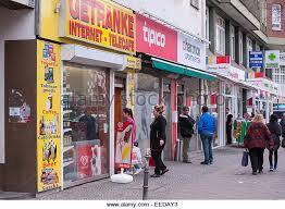 berlin germany shops turmstrasse stock photos berlin germany