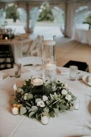 round table centerpiece ideas lush garden wedding with greens galore lush garden wedding and round