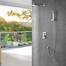 Rain Shower Head With Handheld Wall Rain Shower Head With Handheld Bed U0026 Shower Perfect Rain