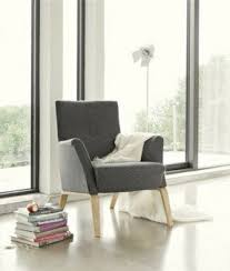 Scandinavian Design Armchair Contemporary Armchairs Foter