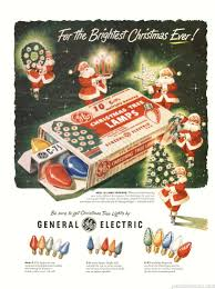general electric tree lights decoration