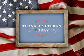 Is Today Flag Day Text Thank A Veterans Today In Frame On American Flag Background