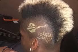 even paul pogba u0027s hair is dabbing sbnation com