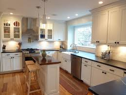 shaker kitchen island project spotlight bringing shaker charm to a virginia kitchen