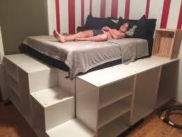 Ikea Bed Hack Ikea Bed Platform For Innovative Ikea Platform Bed Hack Advantages