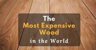 the most expensive wood in the home improvement