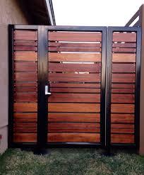 modern horizontal fence ideas outdoor design and ideas modern