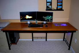 computer desk gaming decoration picturesque best custom computer desk gaming setup