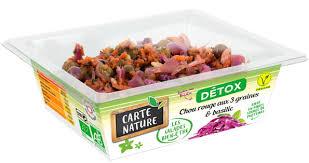 cuisine bio vitalité salades bio détox minceur vitalité par carte nature a vos