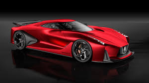 red nissan nissan concept 2020 vision gran turismo looks better in red