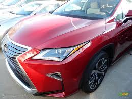 lexus rx red 2017 matador red mica lexus rx 350 awd 118793221 gtcarlot com