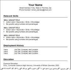 create a resume make a free resume learnhowtoloseweight net