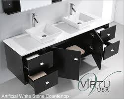 Bathroom Vanity 72 Double Sink by Usa 72