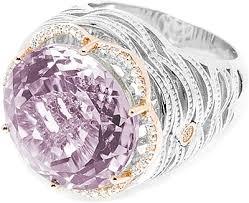 amethyst diamond rings images Tacori 18k925 purple amethyst diamond ring sr111p01 png