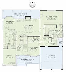 Basement Floor Plans With Bar Craftsman Style House Plan 4 Beds 3 00 Baths 2755 Sq Ft Plan 17